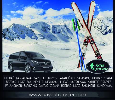 Kayak Merkezi Ulaşım ve Transfer